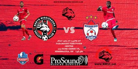 North Mississauga Soccer Club vs Woodbridge Strikers tickets