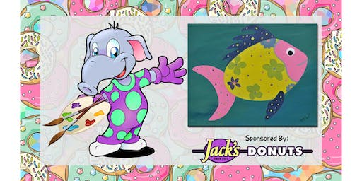 """Paint in Your Pajamas July! """"Big Bahama!"""""""