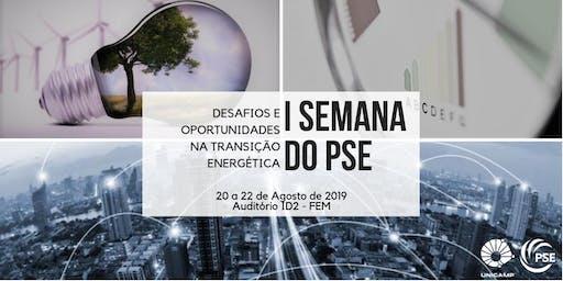 I Semana do PSE: Desafios e oportunidades na transição energética