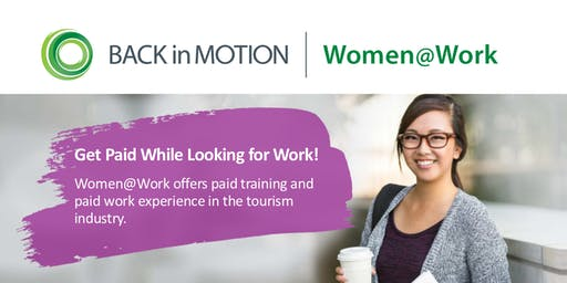 Women@Work Tourism Program Info Session Coquitlam