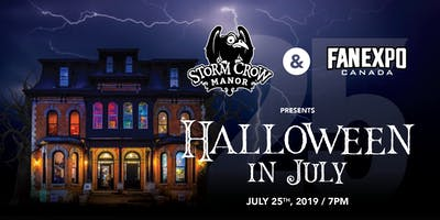 Halloween in July Patio Party