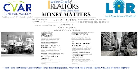 MONEY MATTERS! tickets