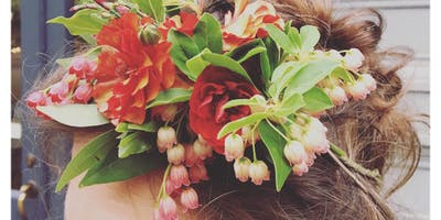 Create a Floral Headpiece