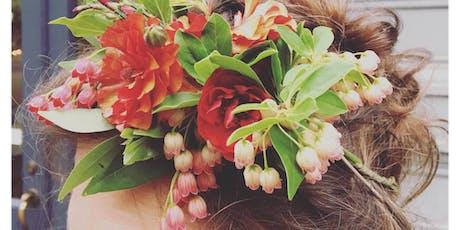 Create a Floral Headpiece tickets