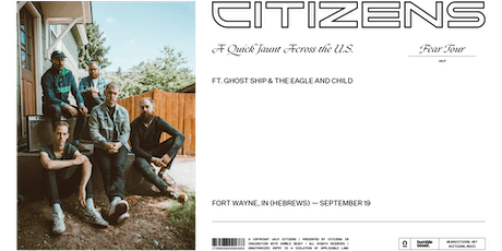 Citizens Live at HeBrews Fort Wayne tickets