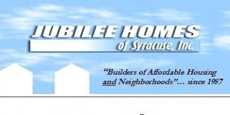 Jubilee Homes of Syracuse Build 2 Work Orientation tickets