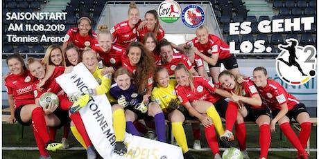 VIP-Tageskarte-2.Frauen-Bundesliga FSV Gütersloh 2009 gegen Turbine Potsdam Tickets