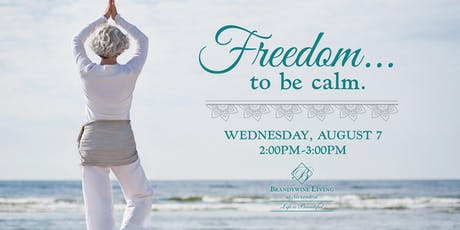 Freedom to be Calm tickets