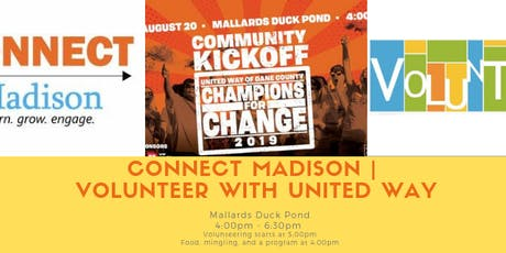 CONNECT Madison   Volunteer with United Way tickets