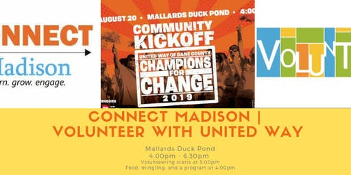 CONNECT Madison | Volunteer with United Way