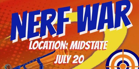 Nerf War tickets