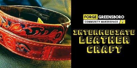 Intermediate Leathercraft tickets