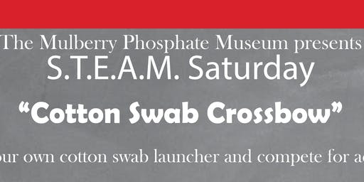 STEAM Saturday: Cotton Swab Crossbow