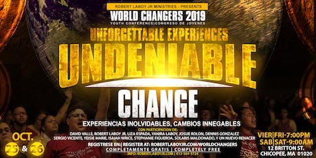 World Changers 2019 Youth Conference / Congreso de Jovenes tickets