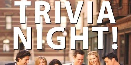 Friends Trivia Night  @ The Back Bar tickets
