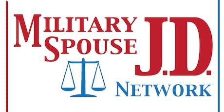 MSJDN WA Military Spouse Rule Celebration tickets