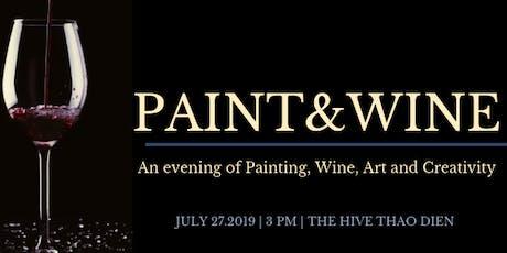 Paint & Wine tickets