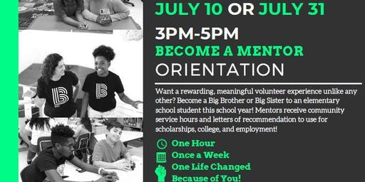 Become A Mentor- Orientation