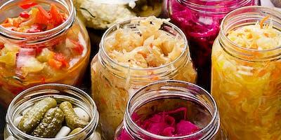 Fermentation Class- Sauerkraut & Fermented Vegetables