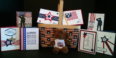 Fundraiser and CardMaking Event for Honor Flight New England