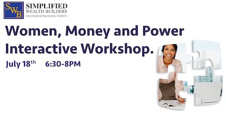 Women, Money and Power Interactive Workshop tickets