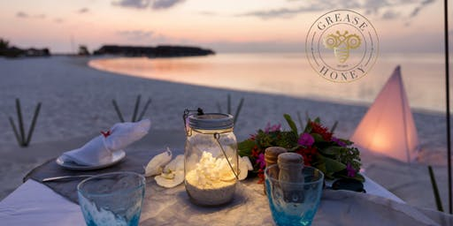 4 Course Dinner On The Beach with Chef Danielle Weybright of Grease & Honey Restaurants