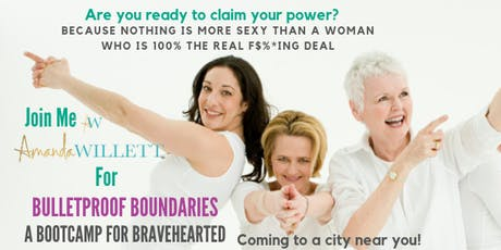 Bulletproof Boundaries tickets