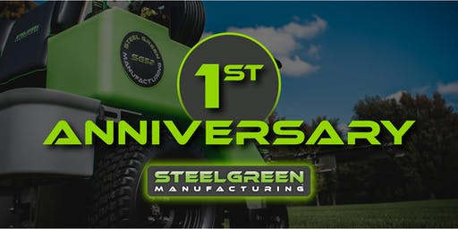 Steel Green Manufacturing is celebrating one year in business!