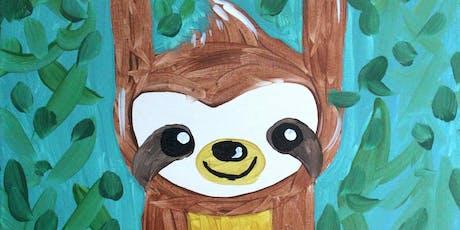 Family Fun Creative Canvas - Baby Sloth tickets