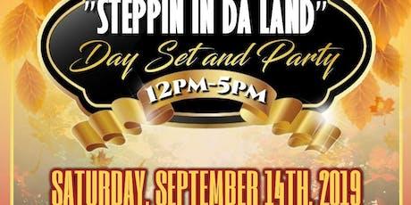 Steppin In Da Land tickets