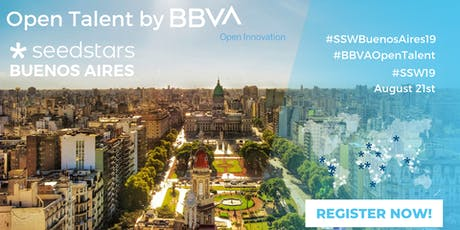 BBVA Open Talent and Seedstars Buenos Aires 2019 entradas