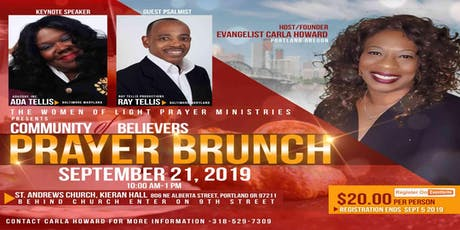 Community of Believers Prayer Brunch tickets