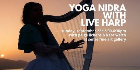Yoga Nidra + Live Harp tickets
