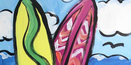 Creative Canvas for Kids - Surf's Up tickets