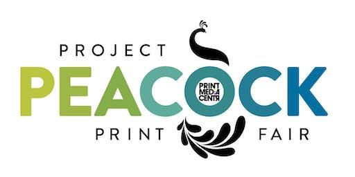 TORONTO Project Peacock Print Fair: Print Customers/Creatives/Students