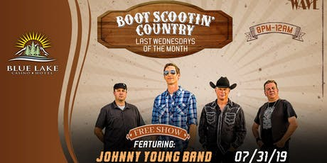 Boot Scootin' Country w/ Johnny Young Band tickets