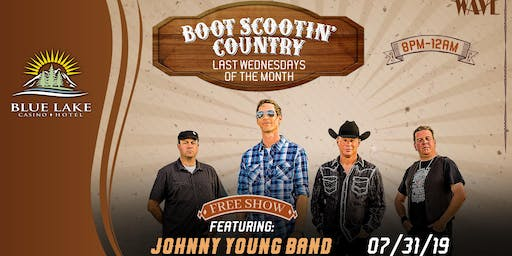 Boot Scootin' Country w/ Johnny Young Band