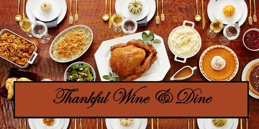 The Clubhouse Pub's Thankful Wine & Dine