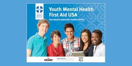 Youth Mental Health First Aid (YMHFA) Training  tickets