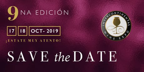 InterContinental Wine Expo tickets