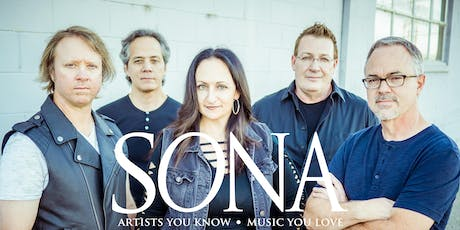 SONA w/special guest CANADIAN RED - Tribute to Loverboy tickets