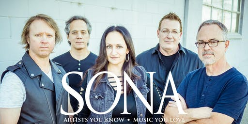 SONA w/special guest CANADIAN RED - Tribute to Loverboy