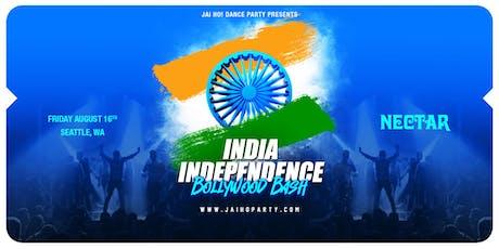 Jai Ho! India Independence Bollywood Bash (Seattle) tickets