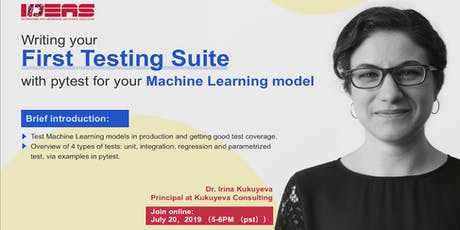 Live Webinar | Write Testing Suite with pytest for Machine Learning model tickets