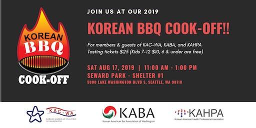 2019 Korean BBQ Cook-Off