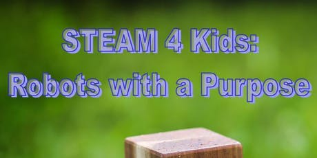 STEAM 4 Kids (July sessions) tickets