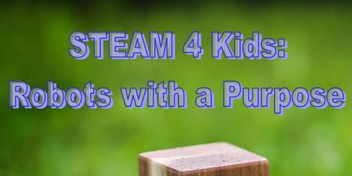 STEAM 4 Kids (July sessions)