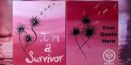 Painting w/Purpose Breast Cancer Support Group Fundraiser  tickets