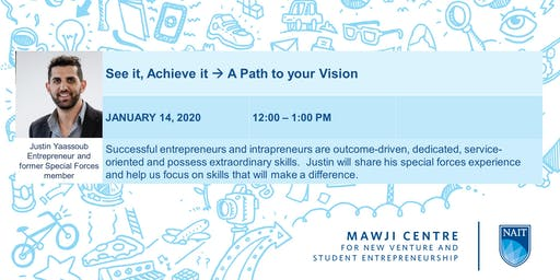 See it, Achieve it --> A Path to your Vision
