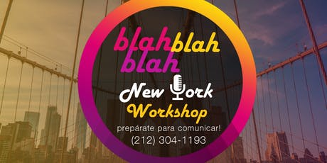 Taller de Oratoria New York tickets